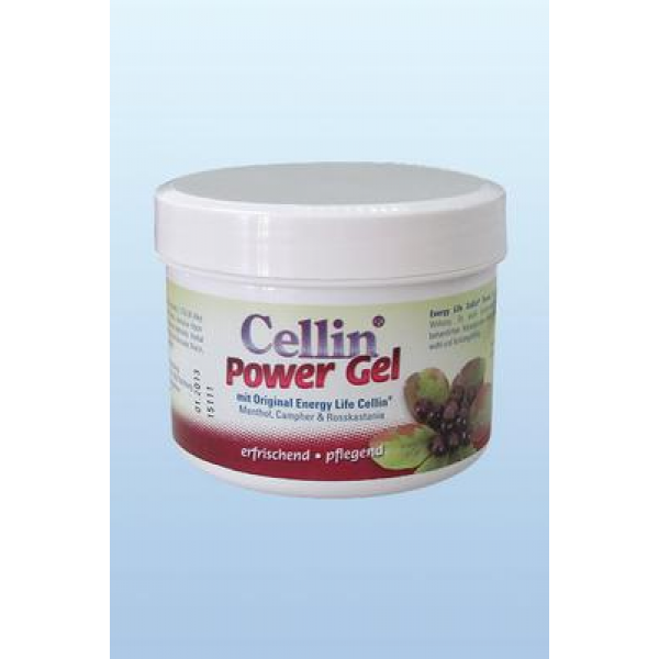 Cellin Power Gel mit Menthol, Campher und Rosskastanie