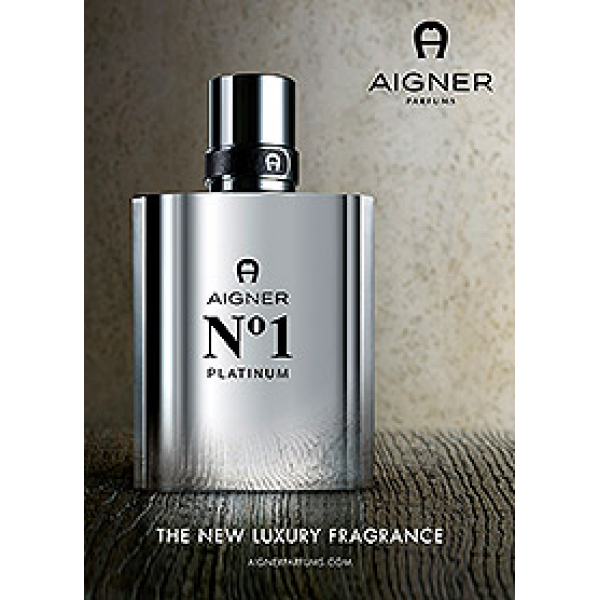AIGNER No 1 PLATINUM Man Eau de Toilette 50 ml