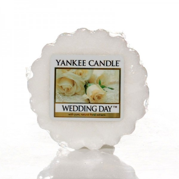 YANKEE CANDLE Wax Melt Wedding Day